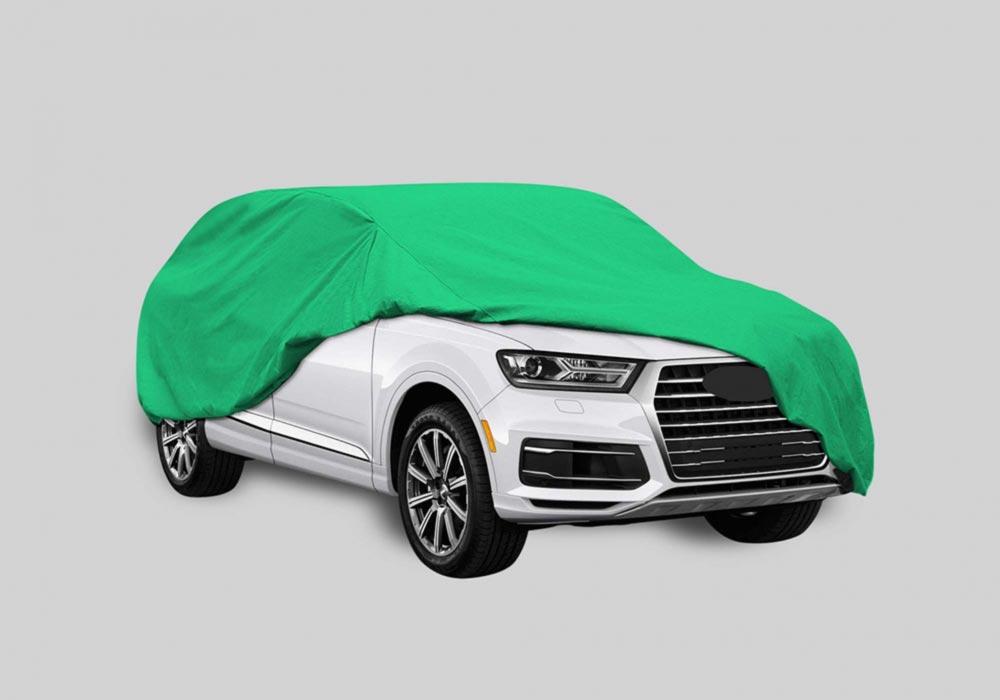 Free Car Cover Mockup