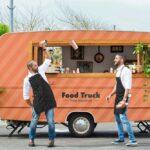Free Food Truck Mockup PSD