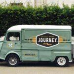 Free Food Truck PSD Mockup