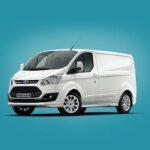 Free Ford Transit Van Mockup