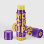 Free Lip Gloss Mockup PSD