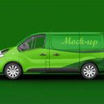 Free Opel Van Mockup
