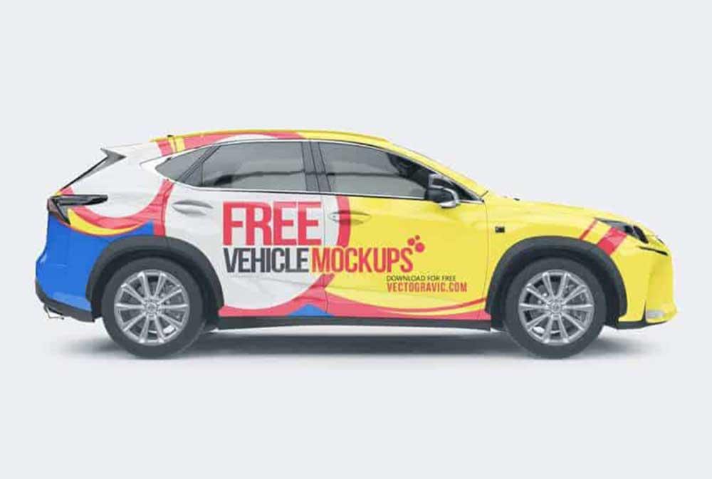SUV-Car-Mockup