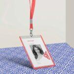 Free Corporate ID Card Mockup