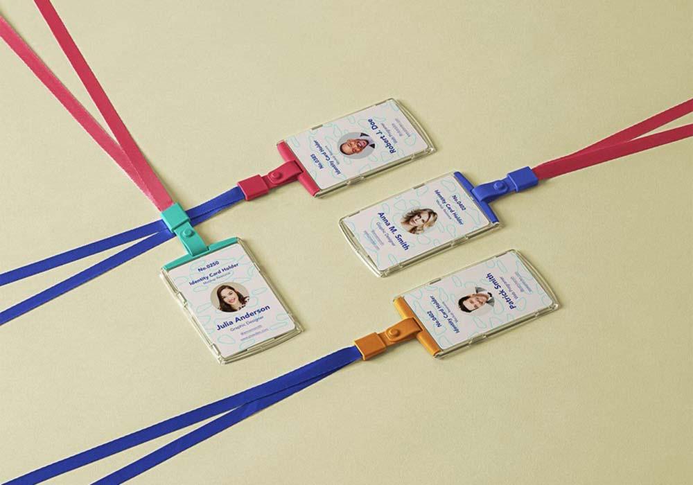 Multiple-ID-Card-Holders-Mockup