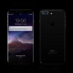 Free Black iPhone 8 Mockup