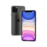 Free Floating iPhone 11 Pro Max Mockup