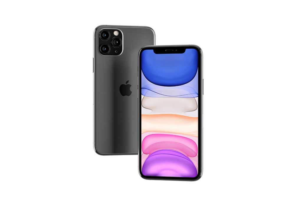 Floating iPhone 11 Pro Max Mockup by Anthony Boyd Graphics