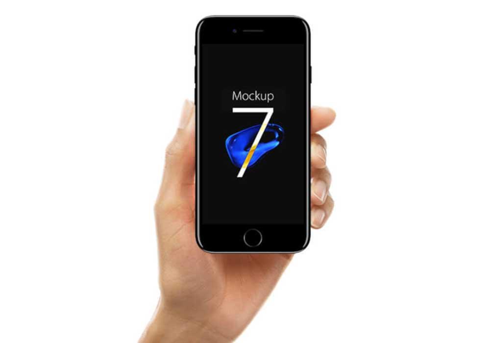 Jet-Black-iPhone-7-in-Hand-Mockup
