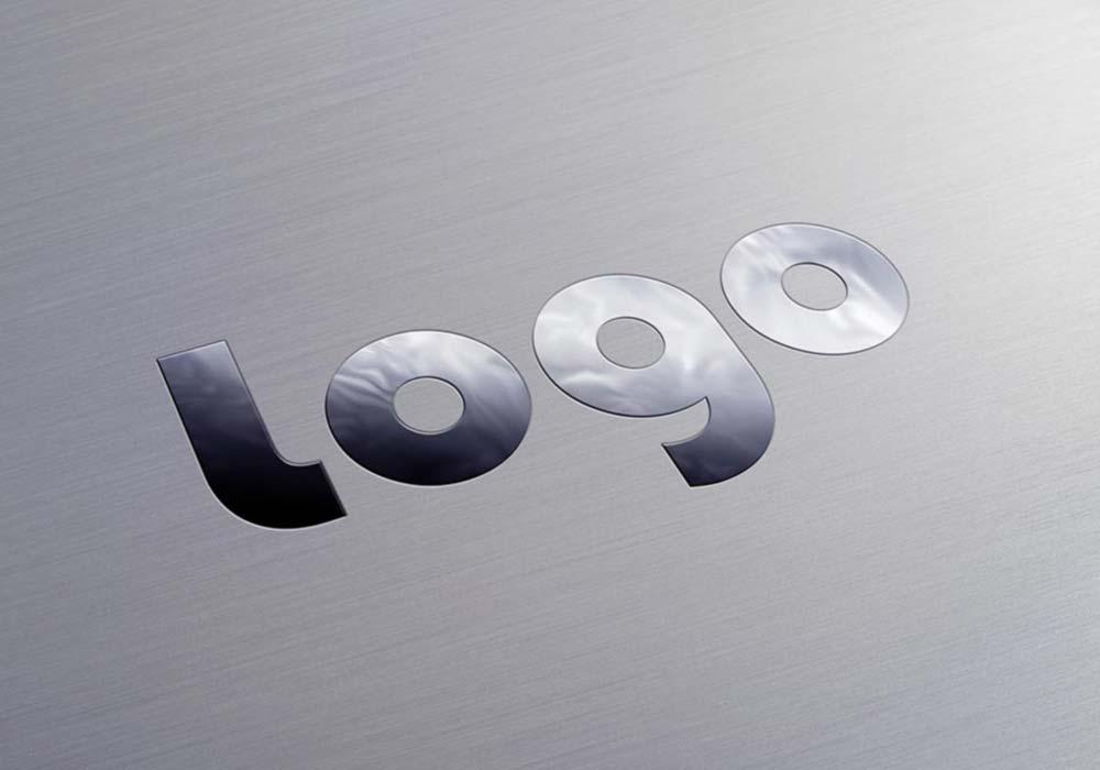 Metallic-Logo-Mockup