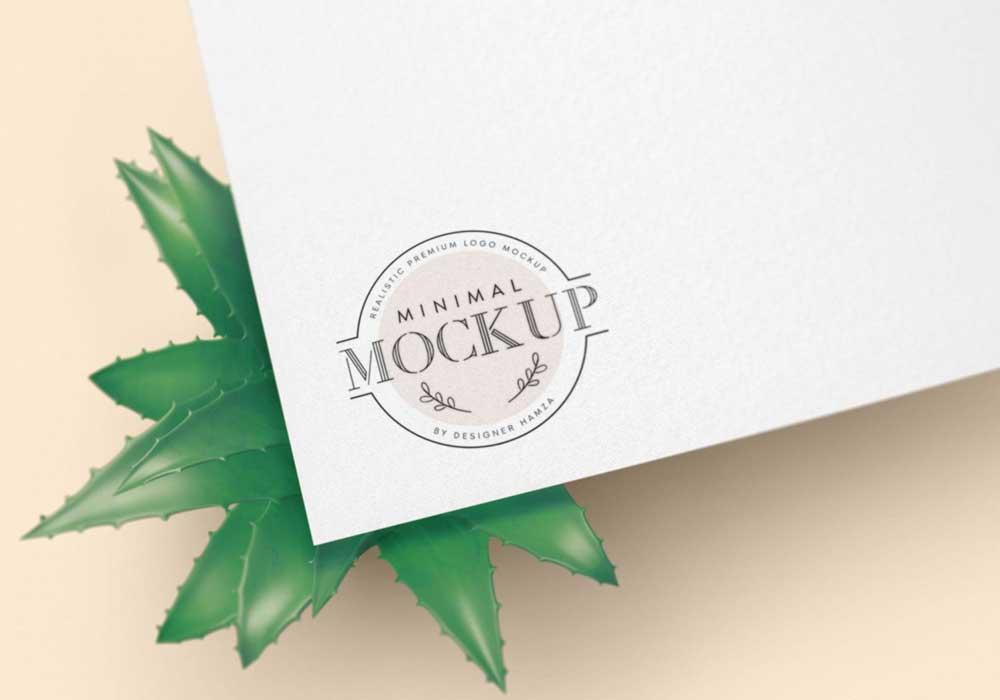 Minimal-Logo-Mockup