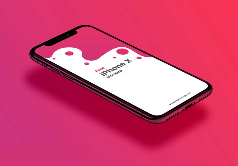 Perspective-View-iPhone-X-Mockup