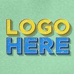 Free Vintage Effect Logo Mockup