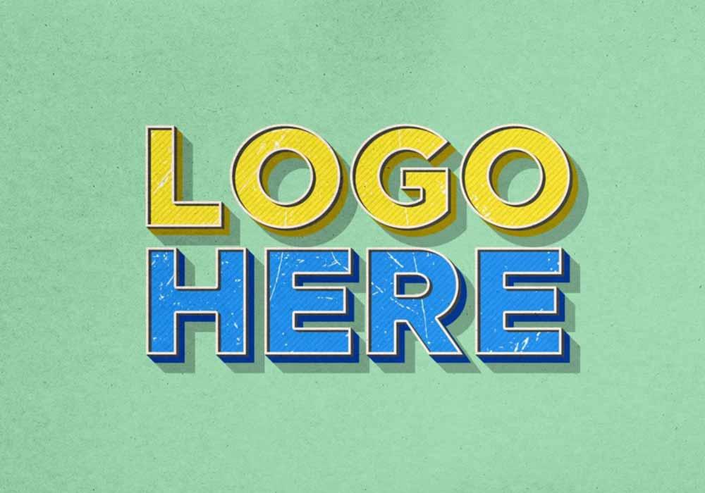 Vintage-Effect-Logo-Mockup