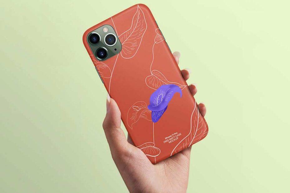 Free iPhone 11 Pro Case Mockup
