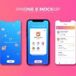 Free iPhone 8 Screens Mockup