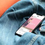 Free iPhone X on Jacket Mockup