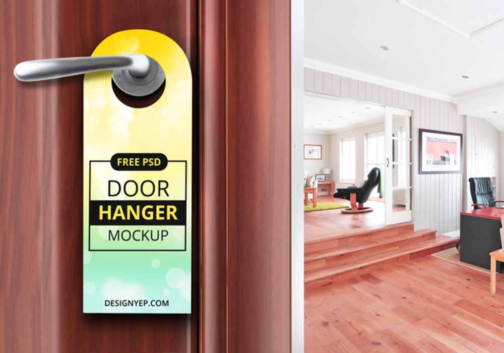 Classic-Door-Hanger-Mockup