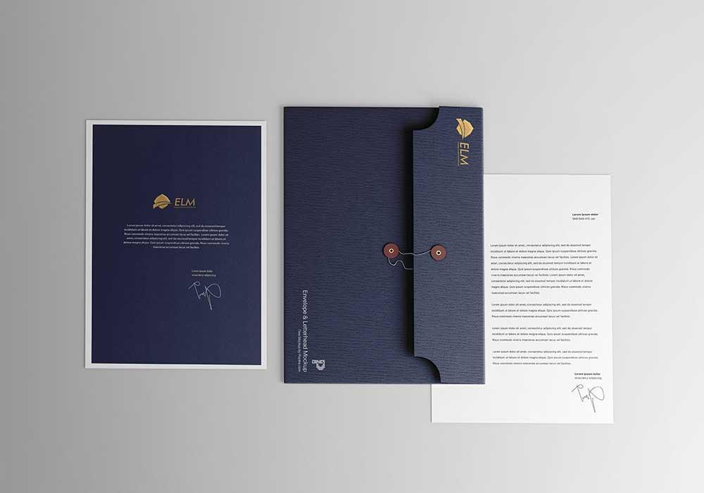 Letterhead-with-Envelope-Mockup