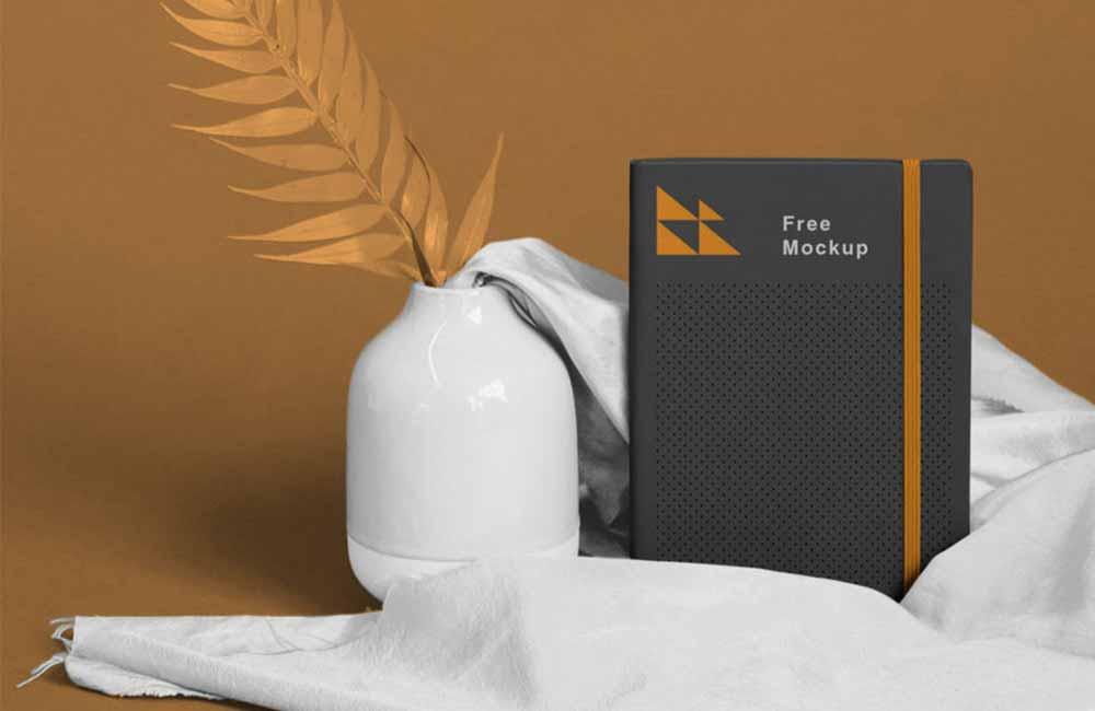 Realistic-Notebook-Mockup