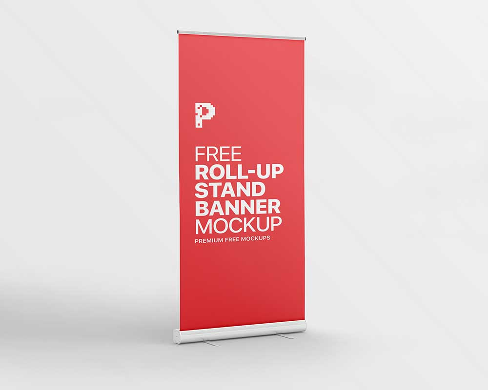 Roll-up-Stand-Banner-Mockup