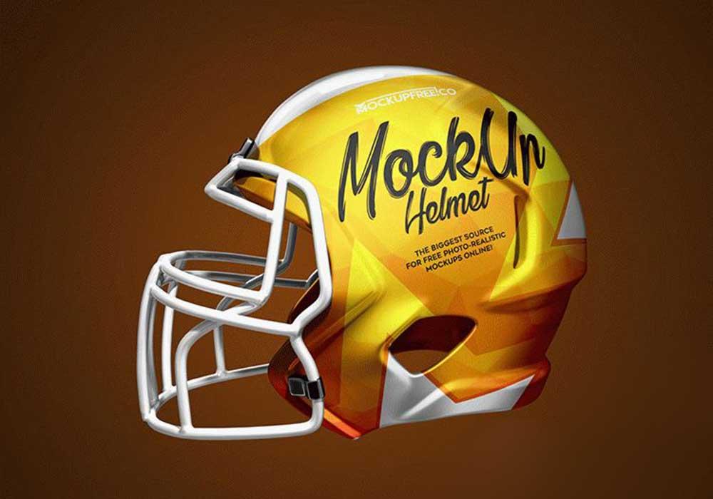 Football-Helmet-Mockup